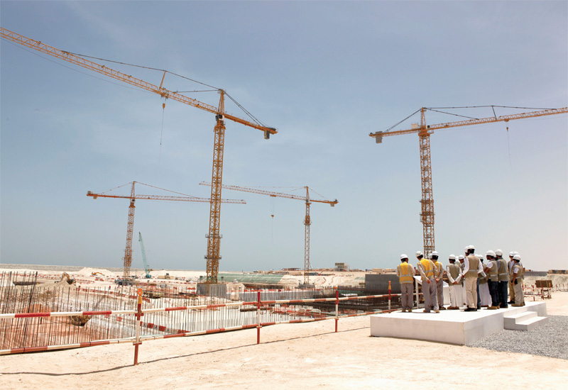 The FANR Board of Management looks over the Braka site.