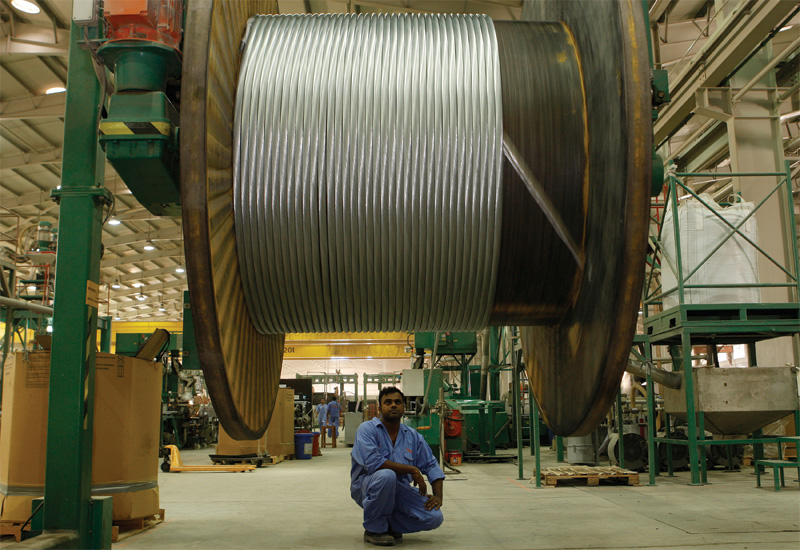 Ducab's manufacturing facilities in the UAE include Ducab Jebel Ali, two factories in Mussafah, Abu Dhabi (pictured above) and a Copper Rod Factory an