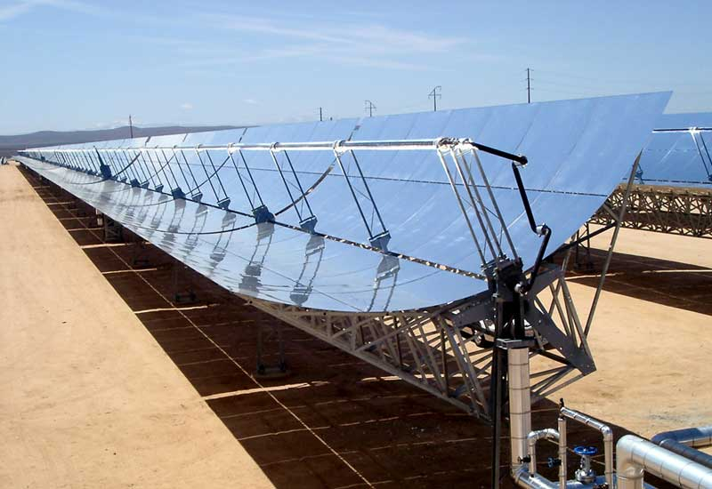 Abengoa is part of the Shams 1 CSP plant in Abu Dhabi