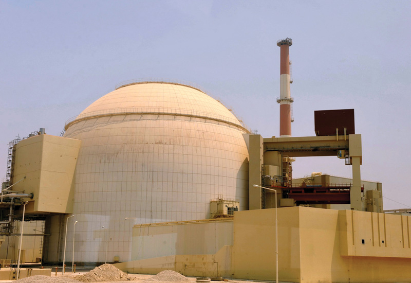 Iran's Bushehr nuclear facility was the original suspected target of the Stuxnet attack. (GETTY IMAGES)
