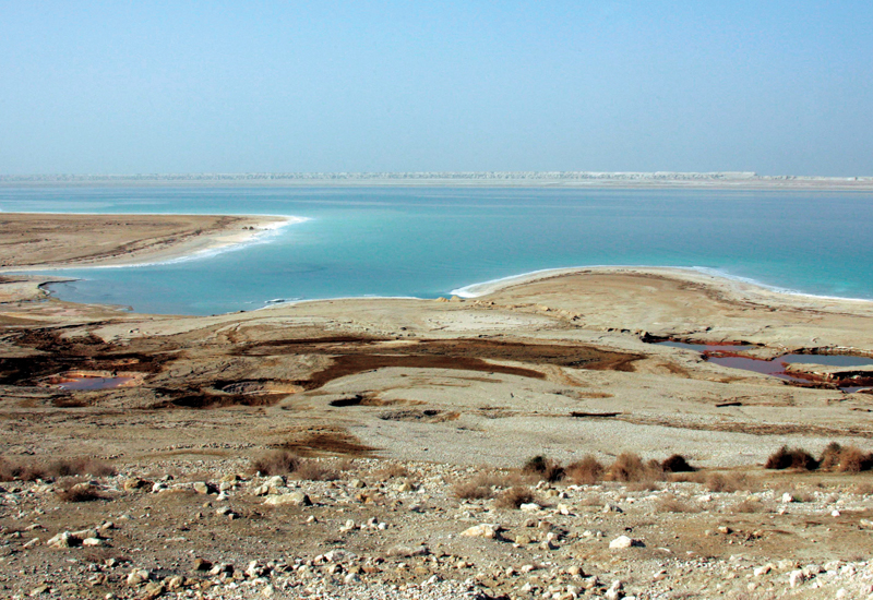The Dead Sea - fed by the River Jordan, one of the Kingdom's few water sources, and one which is increasingly struggling to supply a significant propo