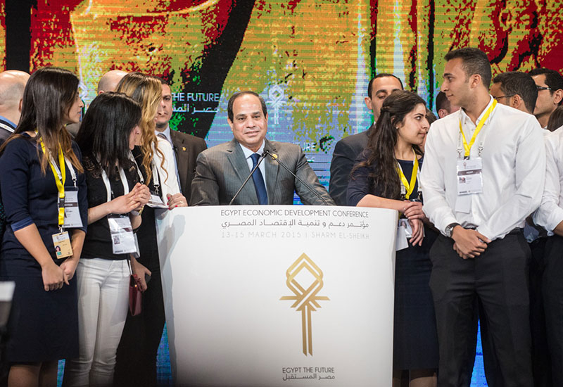 The event was a huge success for Egyptian president Abdel Fattah al-Sisi
