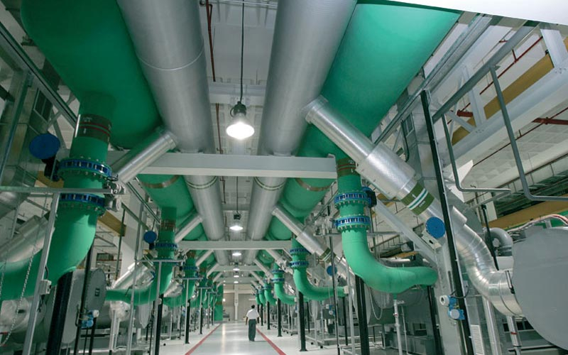 Distrcit cooling system installation, District cooling, Emicool, News