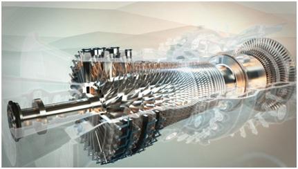 Efficient gas turbine