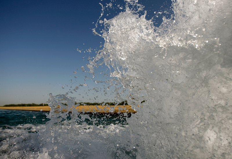 DEWA announces its Q1 2011 water and electricity generation figures. (Getty Images)