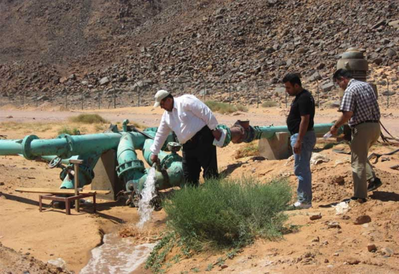 Nearly all Arab countries suffer from water scarcity