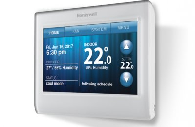 AIR CONDITIONING, District cooling, Honeywell, Thermostat, News