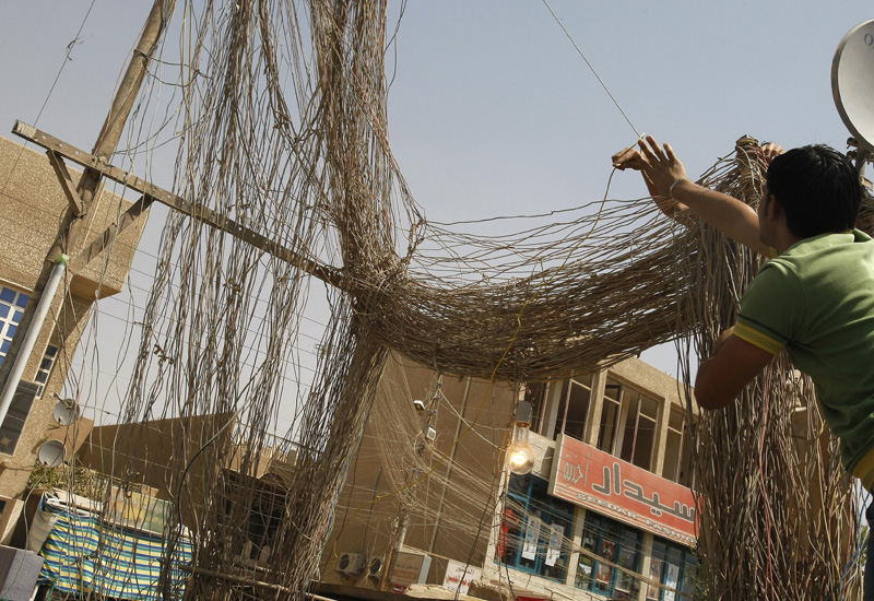 The Iraqi electricity sector is in dire need of overhaul. Courtesy of AFP/Getty.