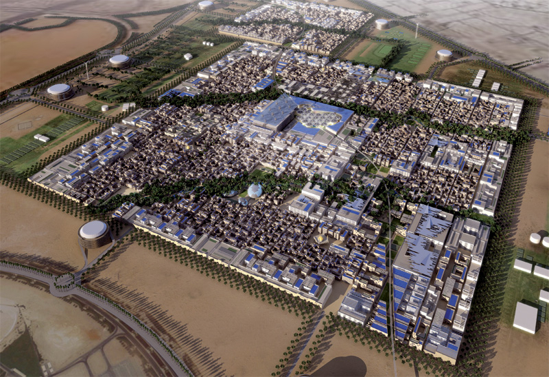 Masdar City is recognised in the report for its focus on renewables.