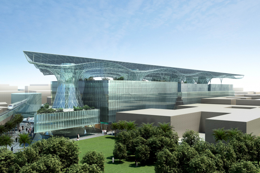 Masdar City will become the world's first zero carbon city.