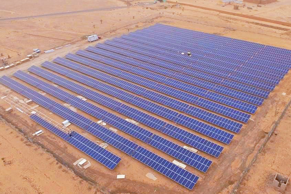Masdar, Mauritania, Solar, Solar plant, News
