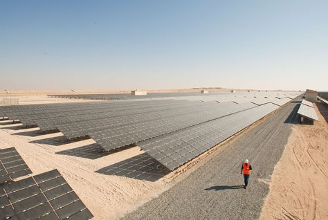 The GCC region is taking to renewable energy to reduce heavy dependence on fossil fuels for power production