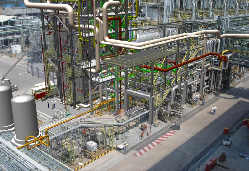Integrated 3D modelling presents plant designers with a simple user environment with state-of-the-art graphics.