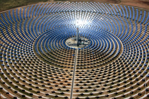 World's largest solar plant in Morocco