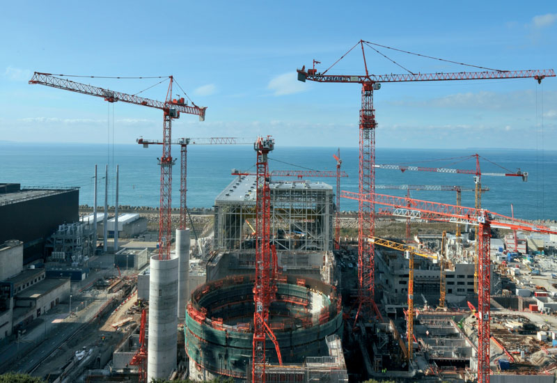 Flamanville-3, the first EPR rector under construction, is a showpiece of French nuclear prowess.