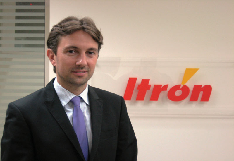 Itron International?s regional general manager, Olivier Laborie.