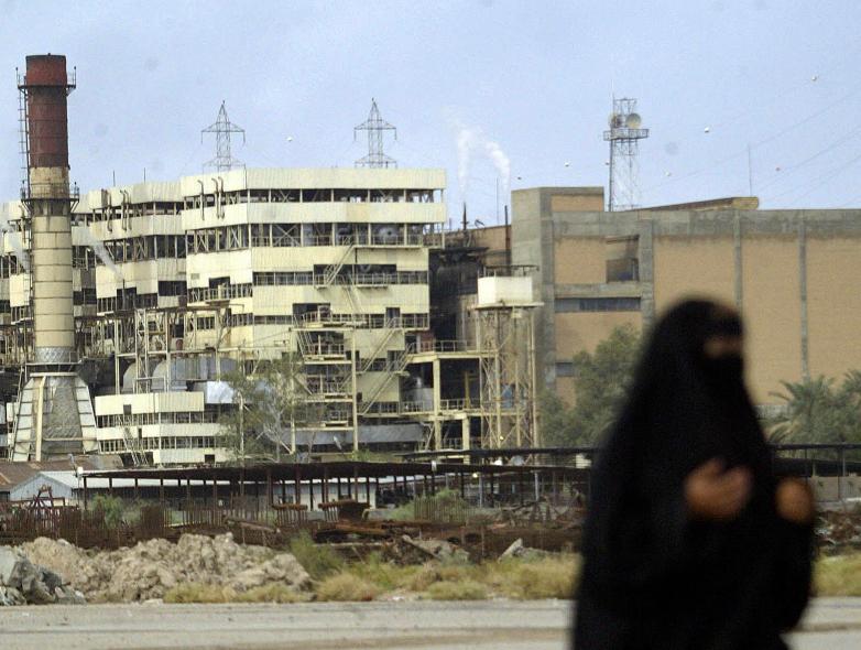 Iraq needs to upgrade its power geneneration capacity.