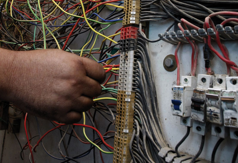 35 per cent of Iraq's power is lost through poor infrastructure and theft.