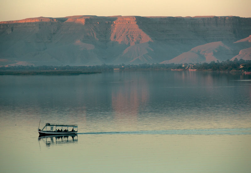 Egypt's water issues are concentrated on the Nile.