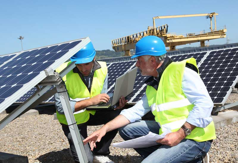 2,072 PV panels are currently being installed on the Msheireb Downtown Doha buildings