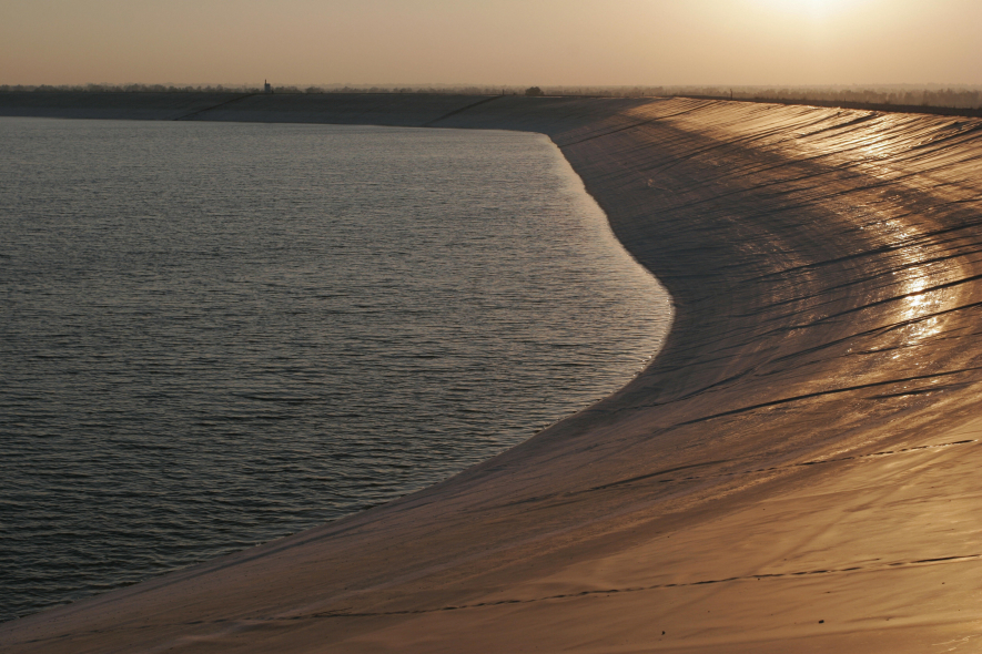 Kuwait's water reserves are running low.
