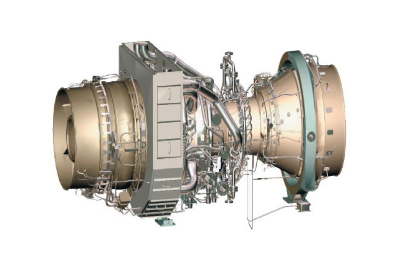 Flexible with a high power-to-weight density, the Rolls Royce Trent engine is a strategic choice for the power barges.