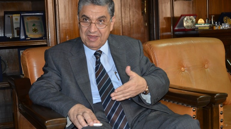 Egypt's Minister of Electricity and Renewable Energy Mohamed Shaker.
