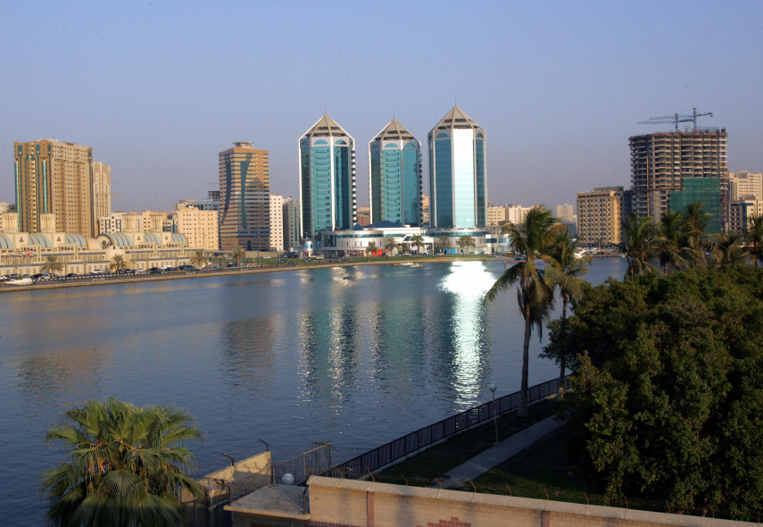 Sharjah's residents were left exposed to the summer heat on Tuesday.