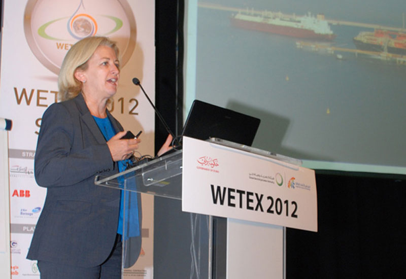 Belinda Perriman, Upstream Commercial Manager for Shell in the UAE.