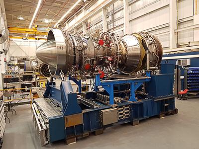 Siemens aero-turbine