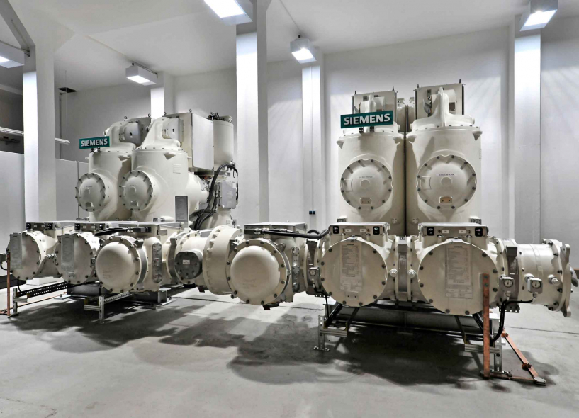 Each substation comprises eight bays of 132kV gas-insulated switchgears