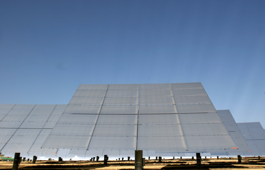 Solar power has got huge potential in the Middle East.