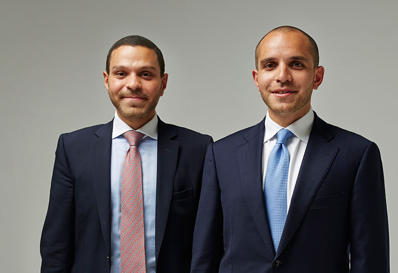 Moataz and Mahmoud El Wardani have seen a flying start to their fledgling business
