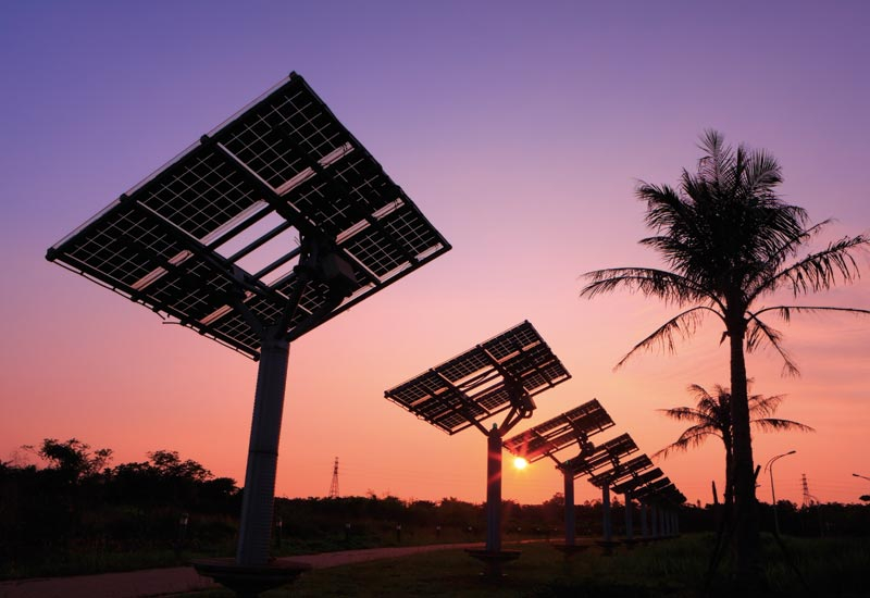 The UAE is reportedly considering a number of investments in Jordan's renewable energy sector. (GETTY IMAGES)