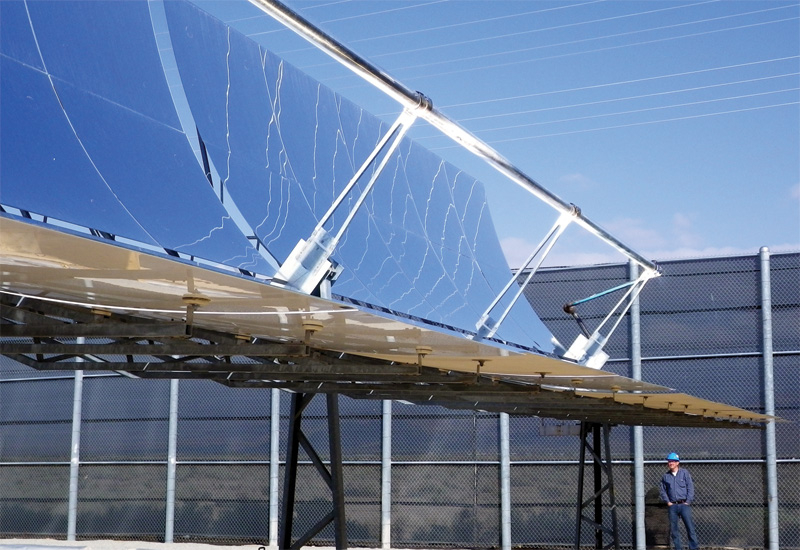 The Noor 1 CSP project is the first stage of a scheme that will add 500MW of solar capacity. (GETTY IMAGES)