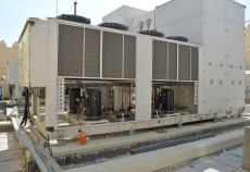 The core of the substation's MEP system is the HVAC system