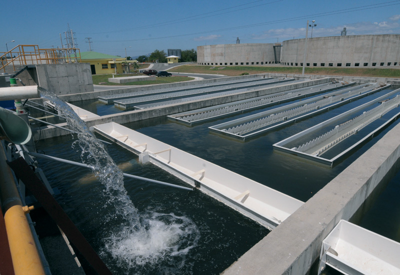 Eonomics still favour large scale plants as opposed to decentralised wastewater treatment options.