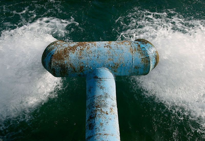 The new plant will have a desalinated water output of 550,000 cubic metres per day. (GETTY IMAGES)