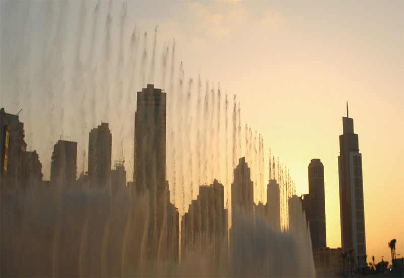 In the GCC, treated wastewater is mainly used for landscaping or for fountain displays.