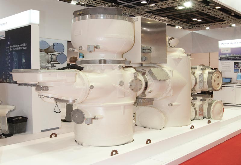 Siemens exhibited its power solutions technology on an impressive stand at Wetex 2012.