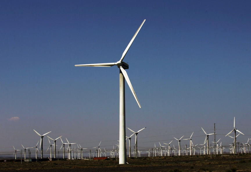 Wind turbines could become a more common sight in years to come.