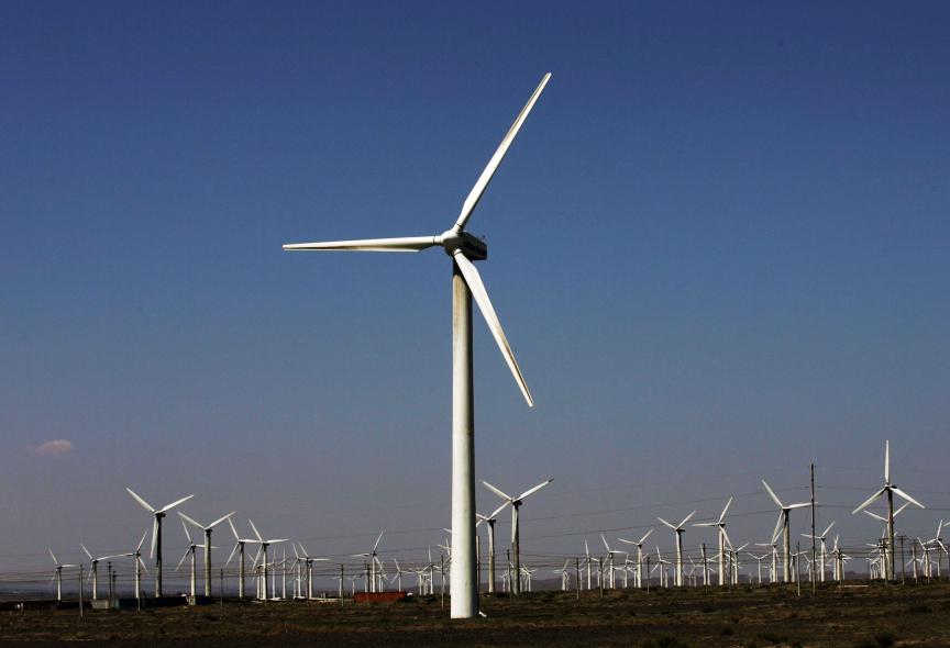 Wind turbines will soon be seen on the Jordanian landscape.