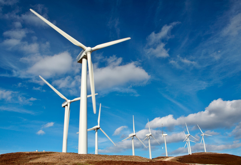 Vestas will complete its delivery of the turbines in February 2012.