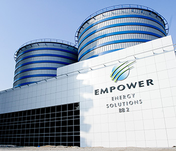 Empower reported an increase in the number of buildings using its district cooling service to 1000 buildings by the end of 2017