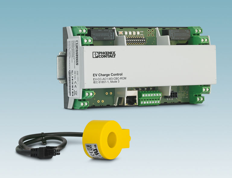 Along with AC charging in accordance with IEC-61851-1, the controller includes a DC residual current monitoring system