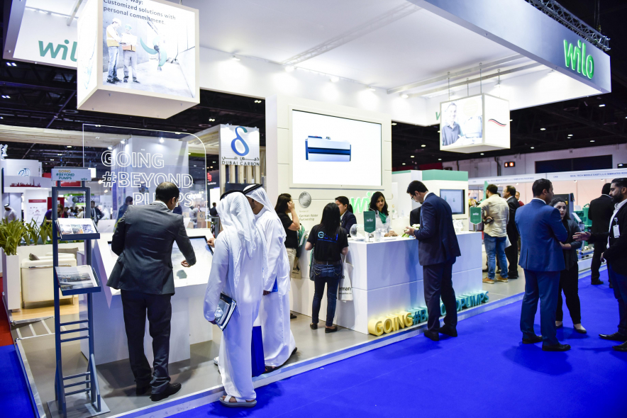 The 19th WETEX and the 2nd Dubai Solar Show in October 2017 were very successful with large participation from exhibitors, visitors, participants, and government organisations