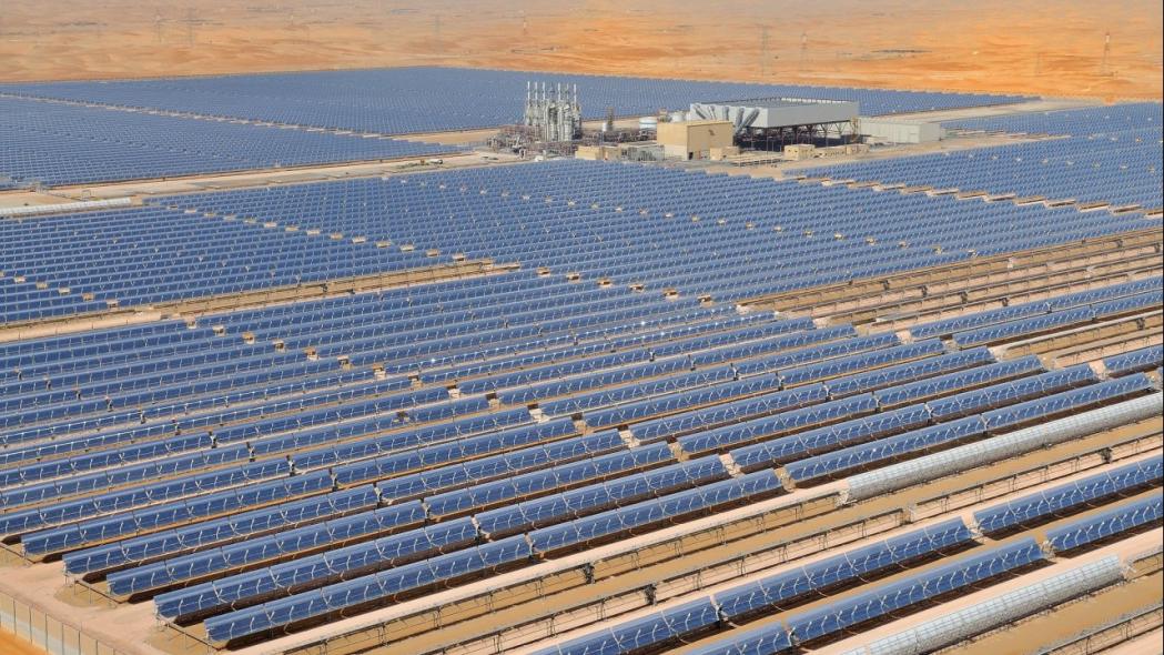 Shams abu dhabi, Solar, Concentrated solar power, CSP