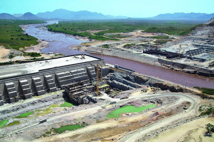 Grand renaissance dam, Hydro electricity, Hydro power