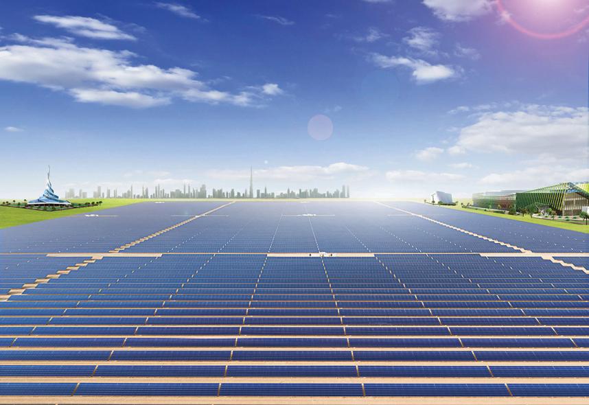 Dubai is already generating electricity from the Mohammed Bin Rashid Al Maktoum Solar Park