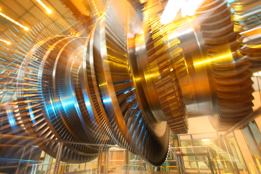 The Arabelle steam turbine has been in operation for the past 18 years and still holds the world power output record
